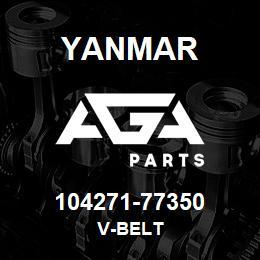 104271-77350 Yanmar v-belt | AGA Parts