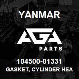 104500-01331 Yanmar gasket, cylinder head | AGA Parts