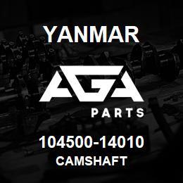 104500-14010 Yanmar camshaft | AGA Parts